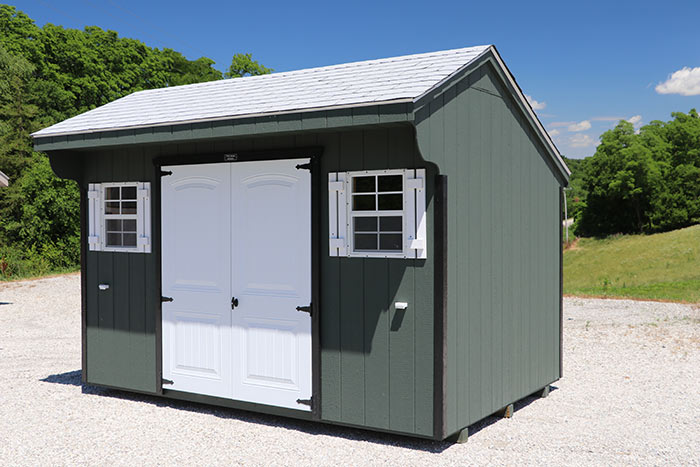 Painted Carriage Shed